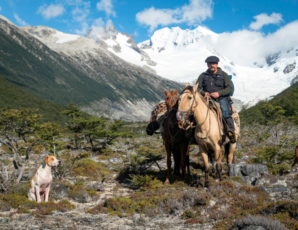 Marcelo is one of the last gauchos living at the glaciers' edge on the Patagonian Southern Ice Field
