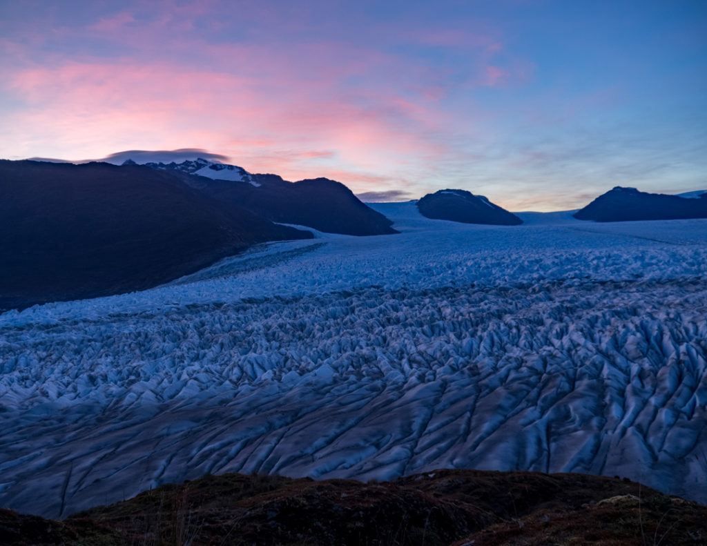 Sunrise, Patagonian Southern Ice Field