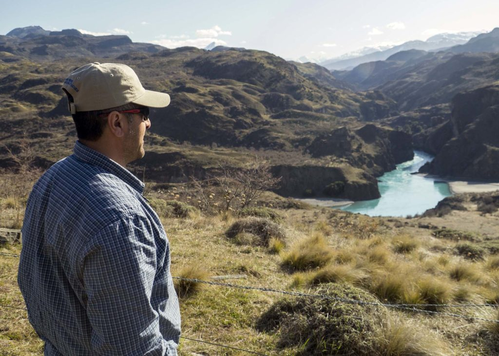 Chacano manages thousands of acres owned by one of Chile's wealthiest businessmen.